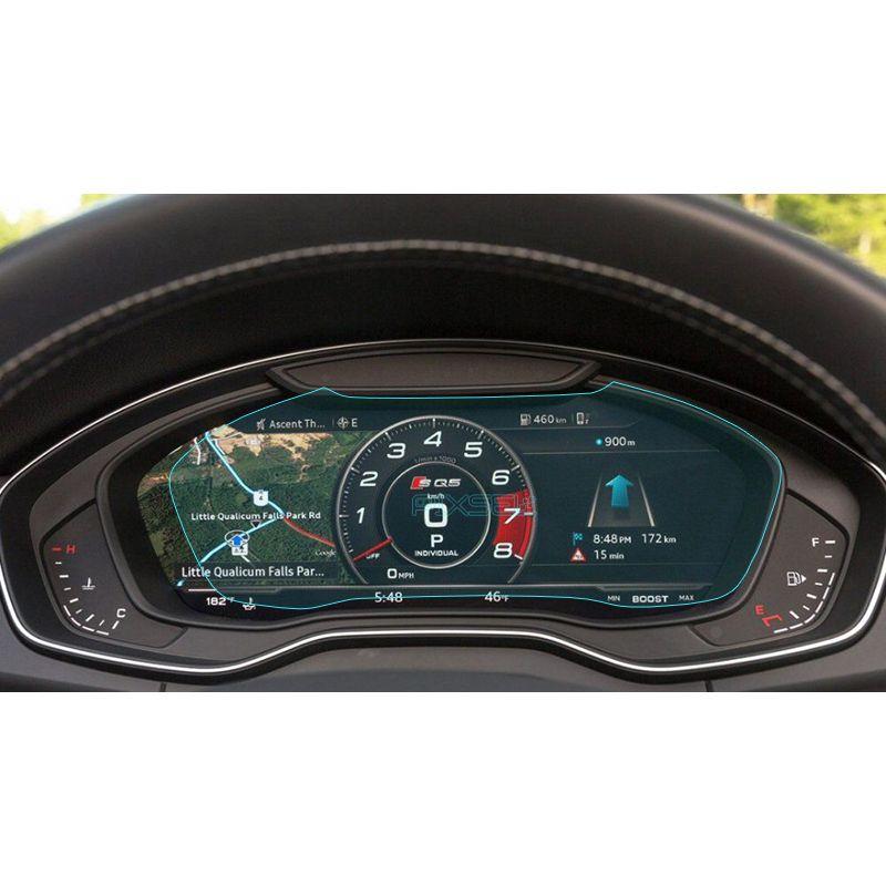 Защитное стекло на приборную панель Audi A4 / S4